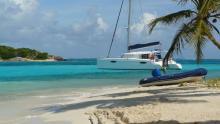Fountaine Pajot Orana 44 : Au mouillage dans les Grenadines